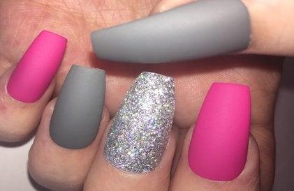 Image of Grey Glitter Mix