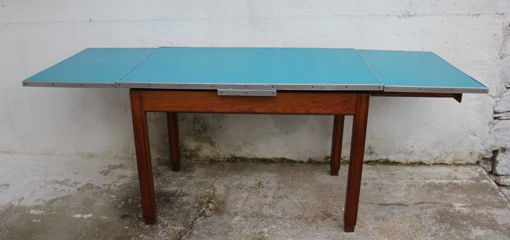 Image of Table formica chêne