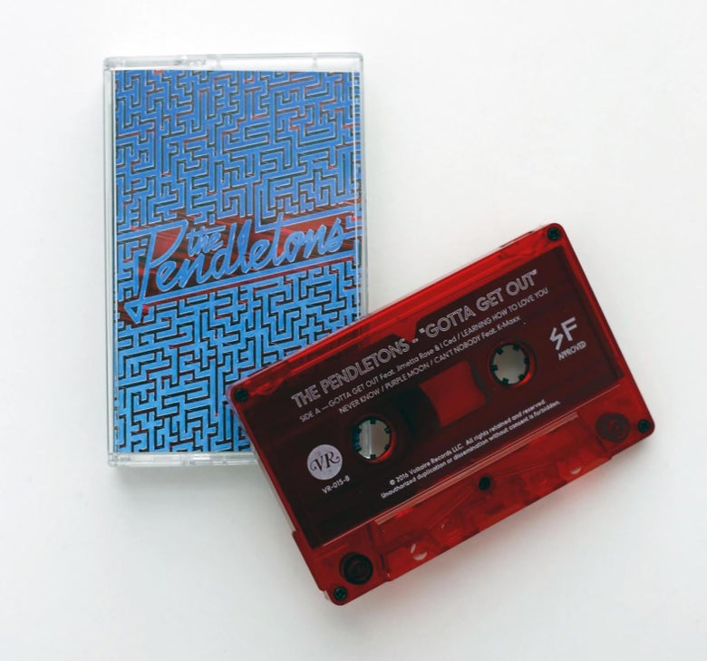 Image of The Pendletons - Gotta Get Out Tape Cassette