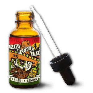 Image of GRAVE BEFORE SHAVE Tequila Limon Blend Beard Oil 1oz.