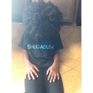 Image of I Heart My Shugabush Tee (black/blue)