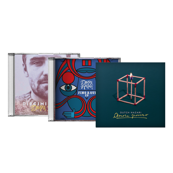 Image of Dutch Nazari | BUNDLE 3 CD