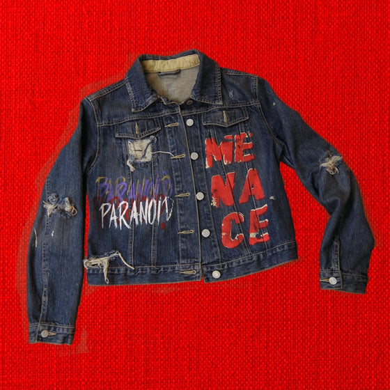 Image of PARANOID! Womens Jean Jacket