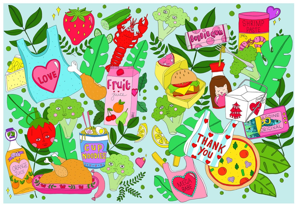 Image of Everyday Food Print