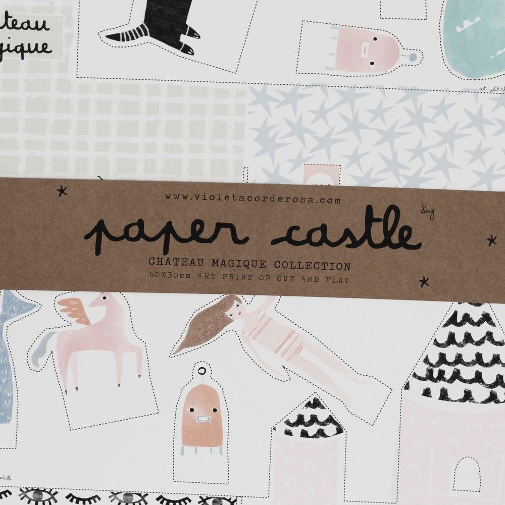 Image of PAPER CASTLE (interlocking)