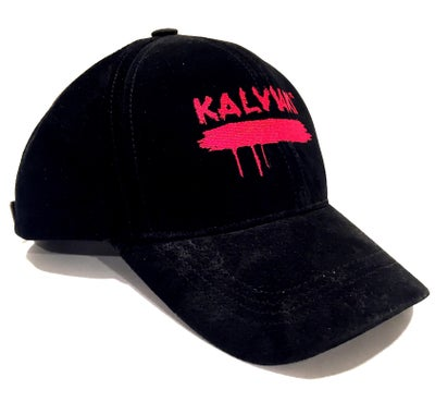 Image of KALVIARI SIGNATURE BLOODLINE BLACK SUEDE DADHAT