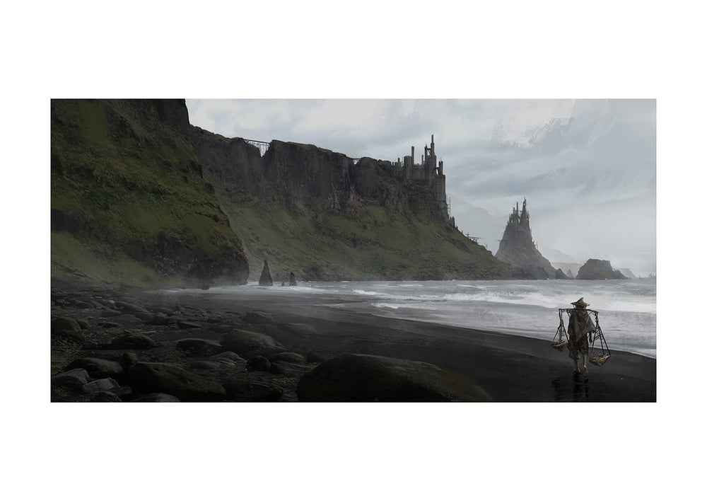 Image of Substrata North Coast (11.7 x 16.5 Print)