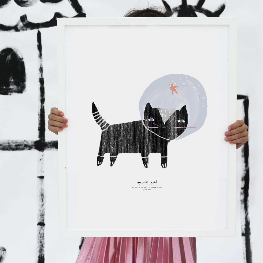Image of ART PRINT | SPACE CAT