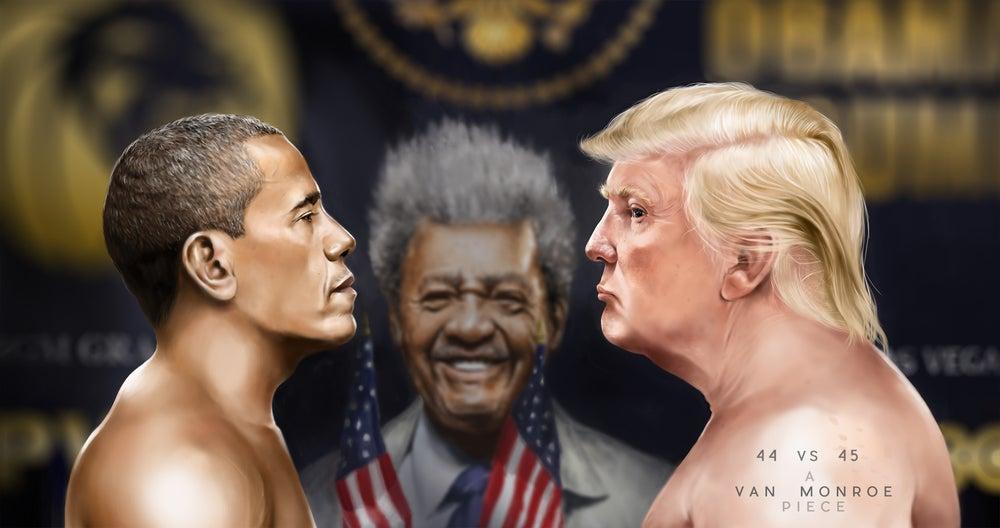 Image of 44 vs 45  (PRINT)