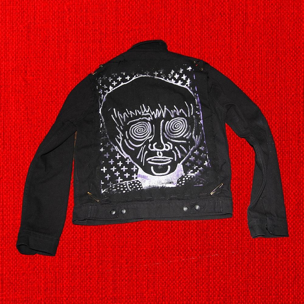 Image of Men's Jean jacket (Black)