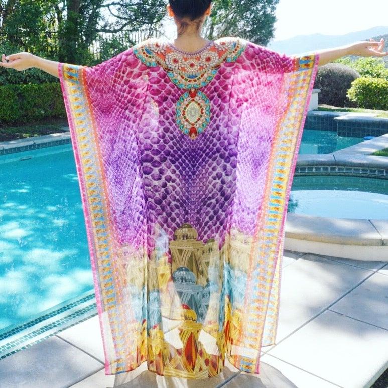 Image of Morocco Pullover Kaftan