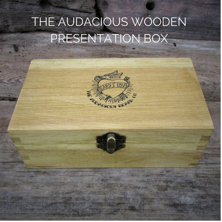 Image of The Audacious Wooden Presentation Box