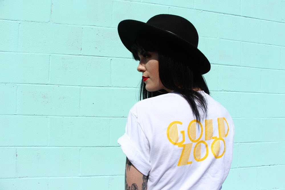 "Image of White ""Bad Soul"" tee"