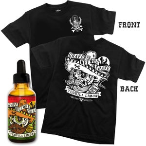 Image of GBS TEQUILA LIMON BLEND Tee with Beard Oil or Balm combo