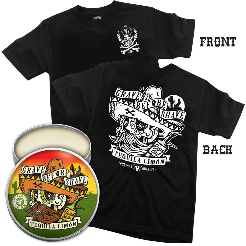 Image of GBS™  TEQUILA LIMON BLEND Tee with Beard Oil or Balm combo