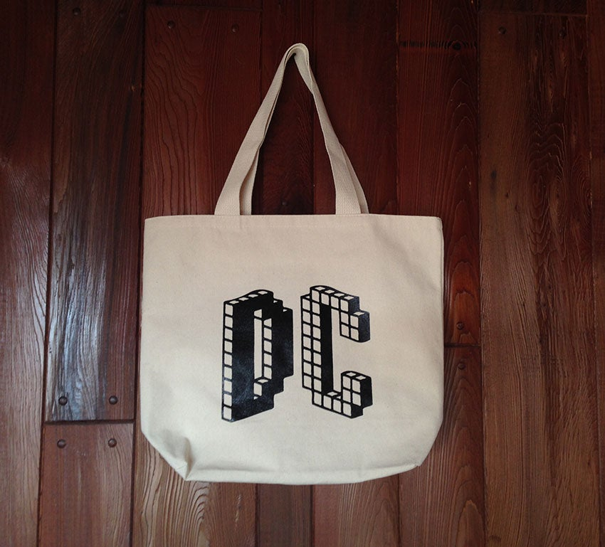 Image of Dream Chimney Record Tote (free US shipping)
