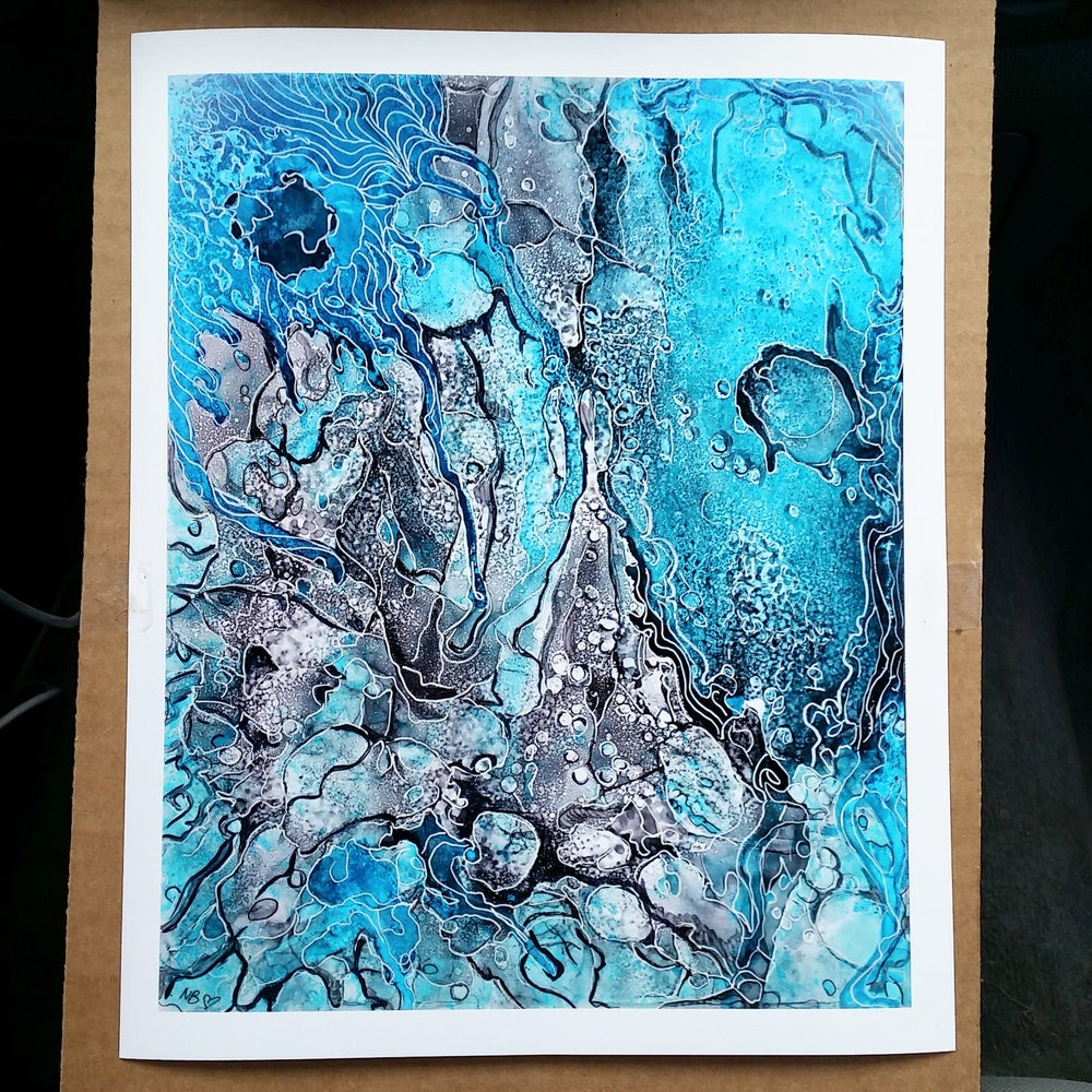 "Image of ""Be Like Water"" Limited Edition Fine Art Print"