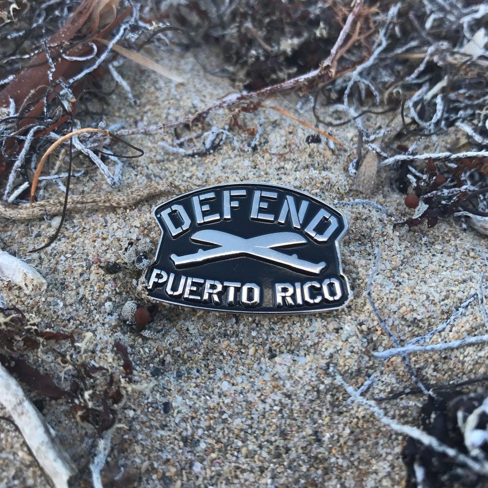 Image of Defend PR Pin