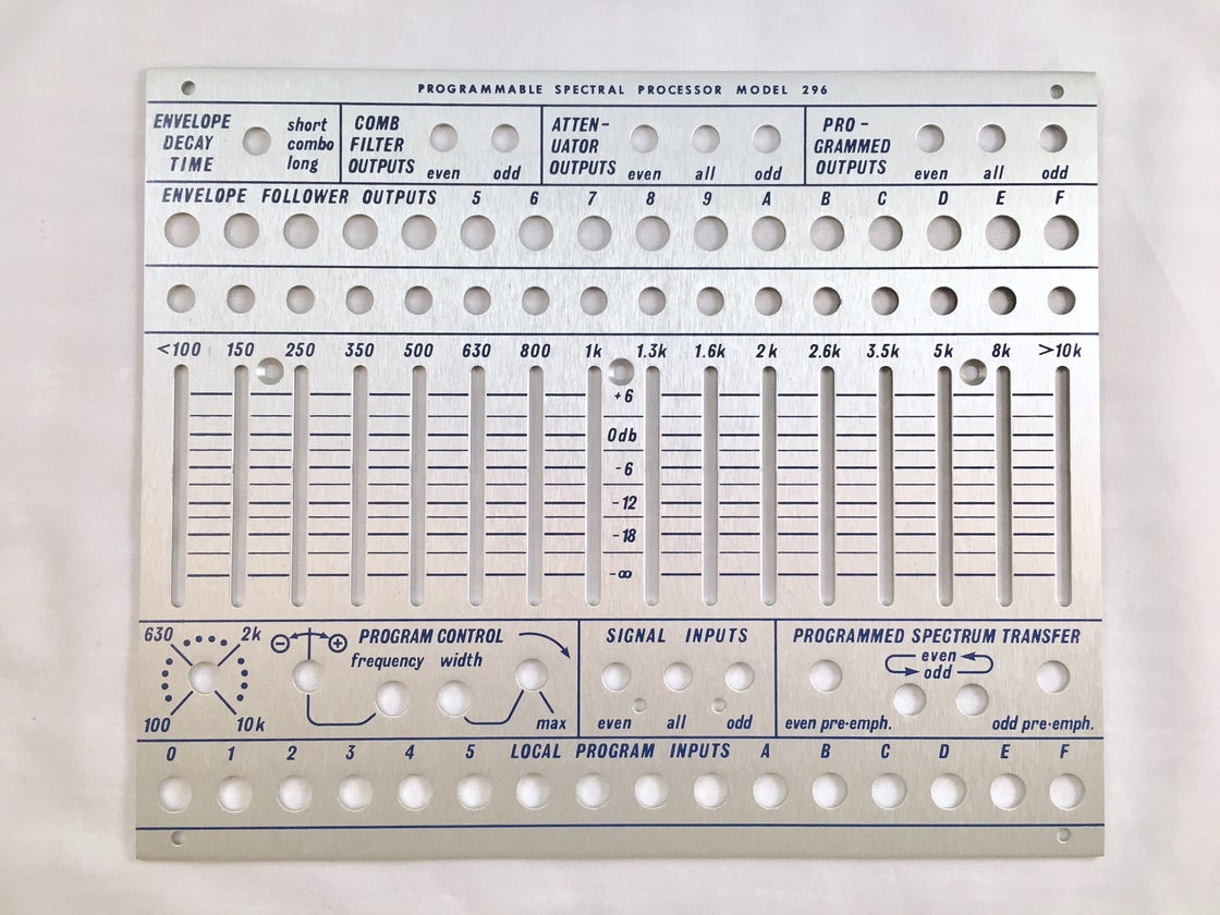 Image of 296 front panel (for DIY kit)