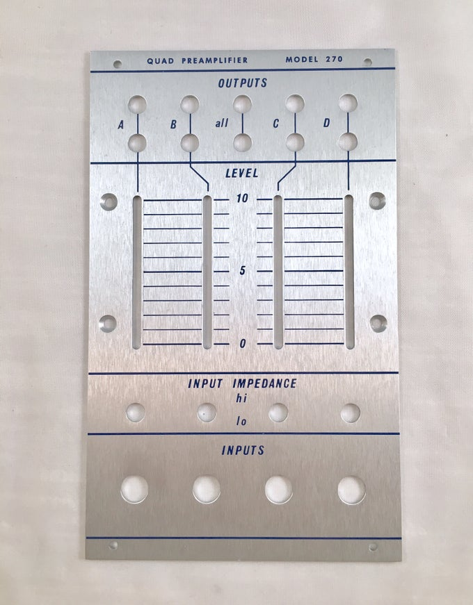Image of 270 front panel (for DIY kit)