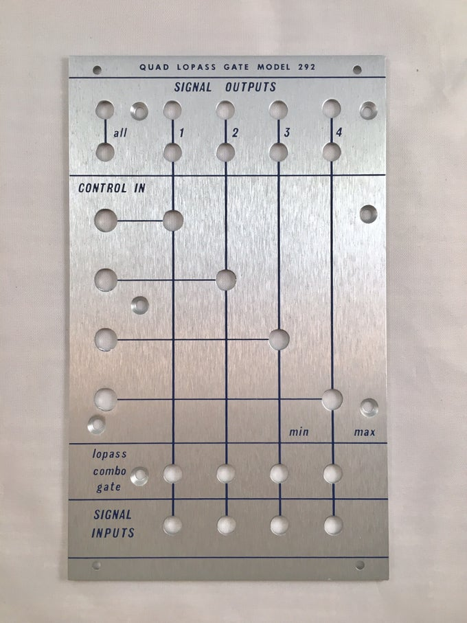 Image of 292B front panel (for DIY kit)