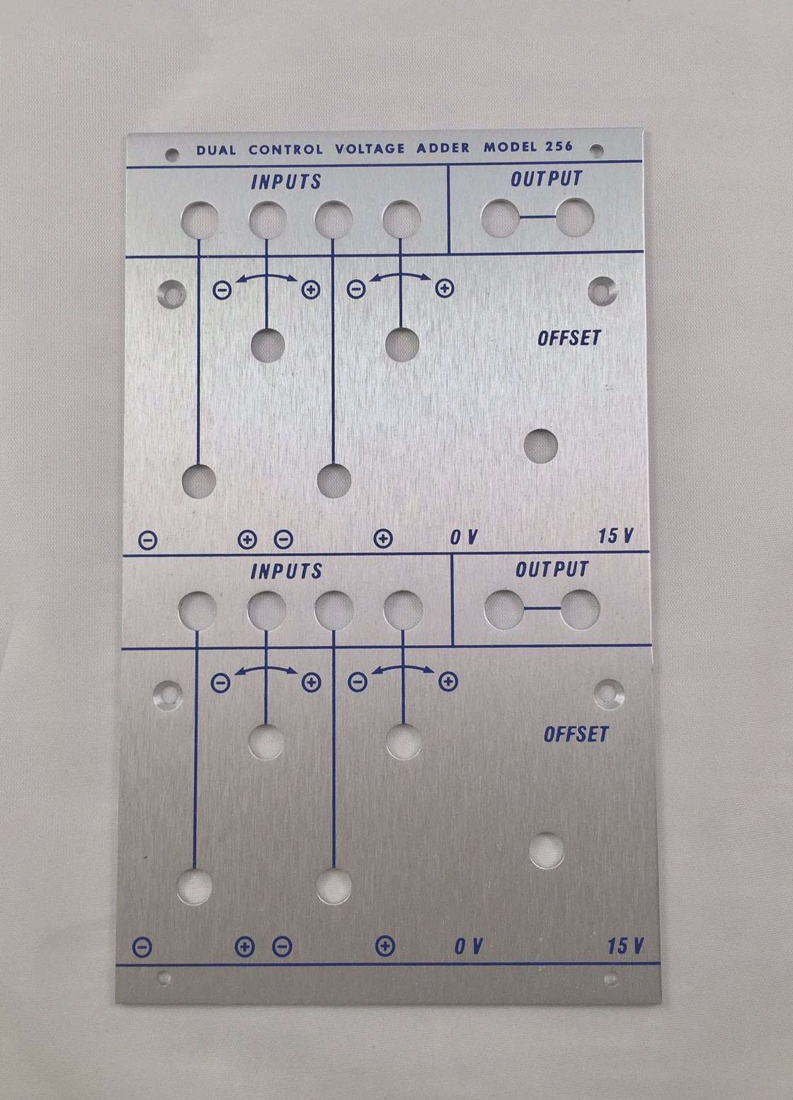 Image of 256 front panel (for DIY kit)