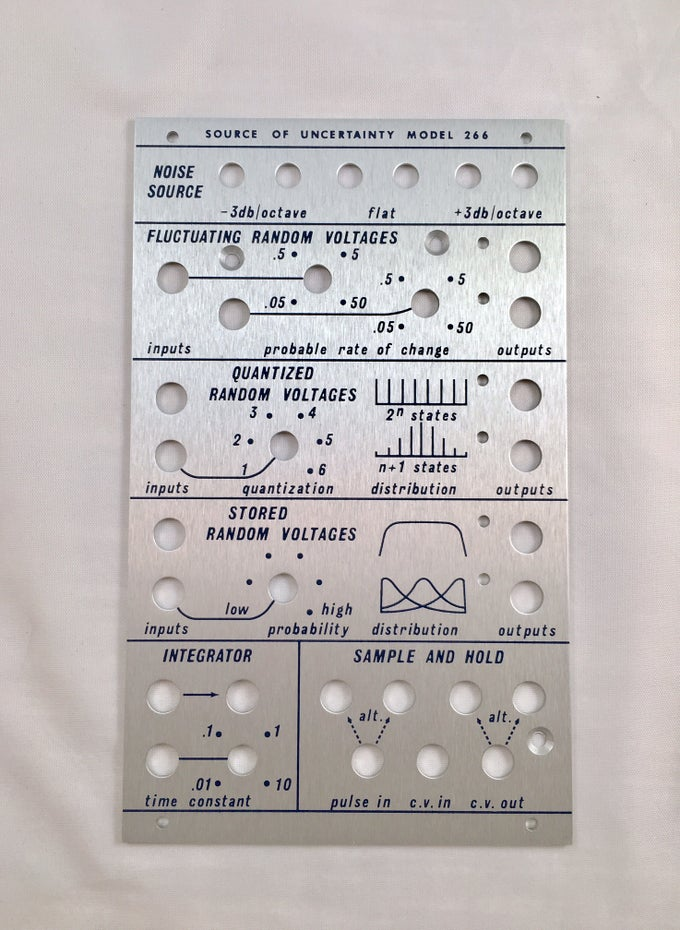 Image of 266 front panel (for DIY kit)