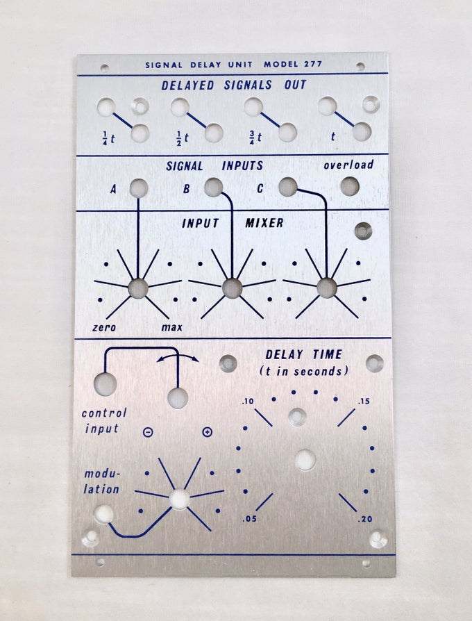 Image of 277 front panel (for DIY kit)