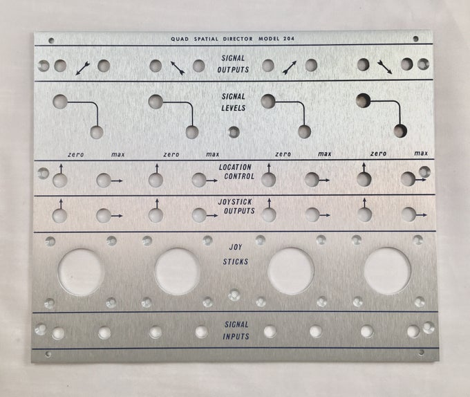 Image of 204 front panel (for DIY kit)