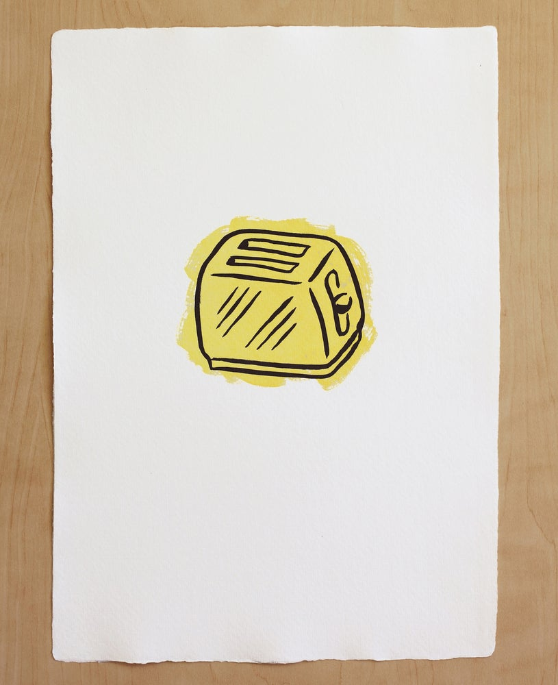 Image of TOASTER print