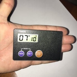 Image of DIGITAL POCKET TERP TIMER