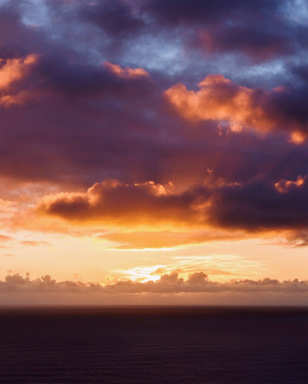Image of Sunset at Dyrholaey