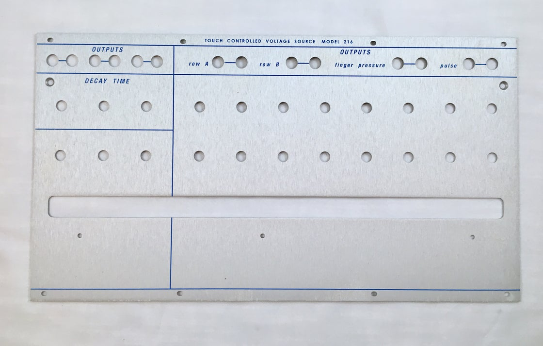 Image of 216 front panel (for DIY kit)