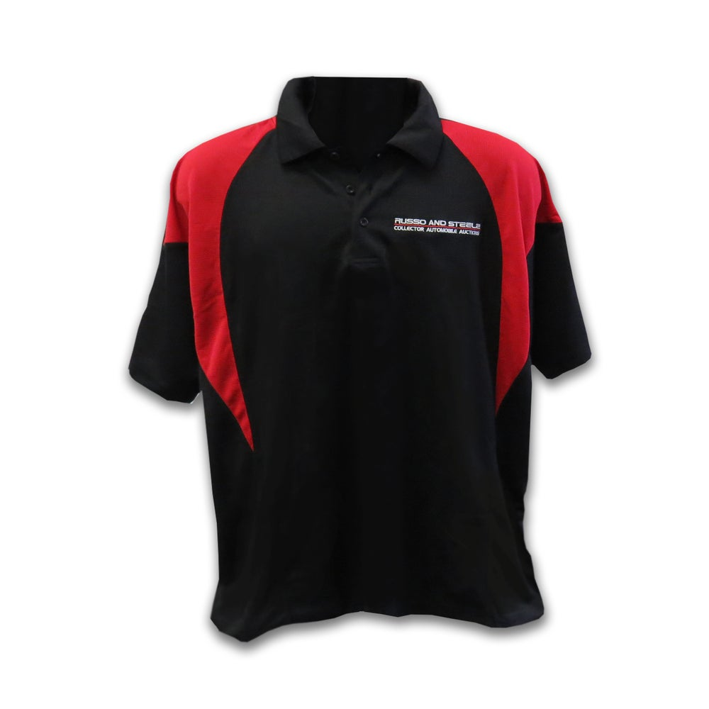 Image of Men's Polo Black/Red