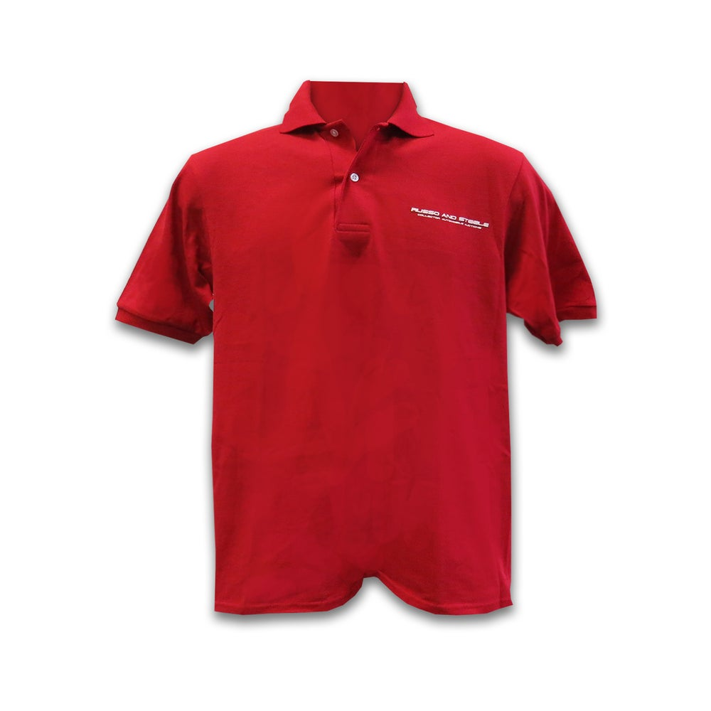 Image of Men's Polo Red