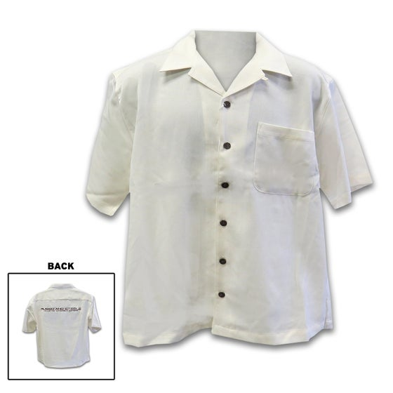 Image of Men's Camp Shirt Cream button down