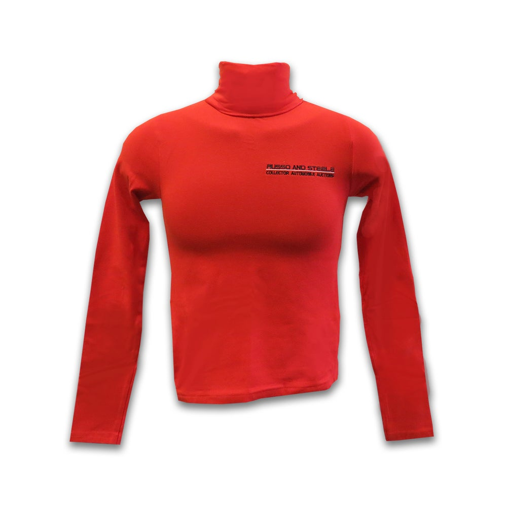 Image of Women's Turtle Neck Red