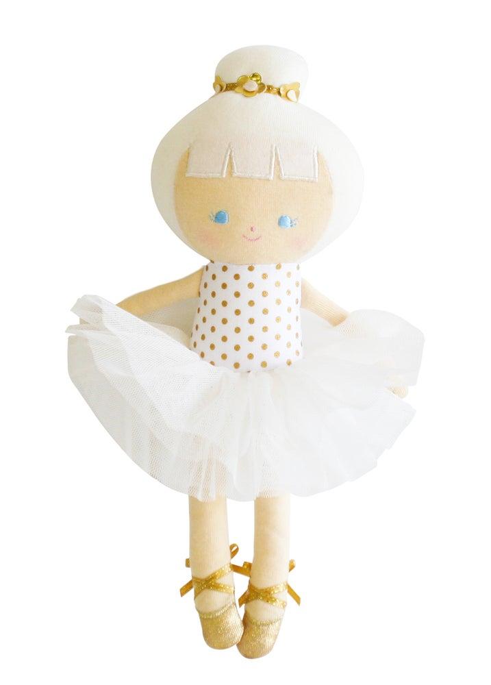 Image of Baby ballerina Doll 25cm - Gold Spot