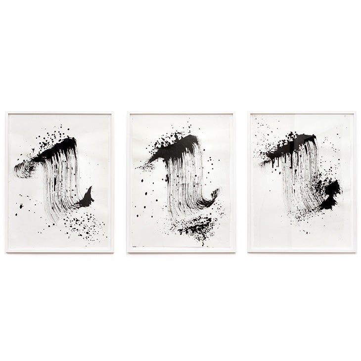 Image of Triptych Justified Scripture 1X1 with broom / Niels Shoe Meulman