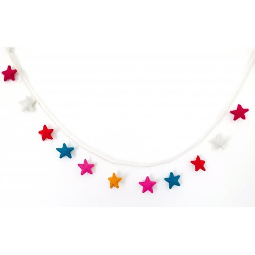 Image of Felt Star Garland