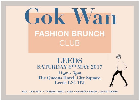 Image of Fashion Brunch Club - LEEDS, Saturday 6th May 2017