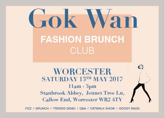 Image of Fashion Brunch Club - WORCESTER, Saturday 13th May 2017