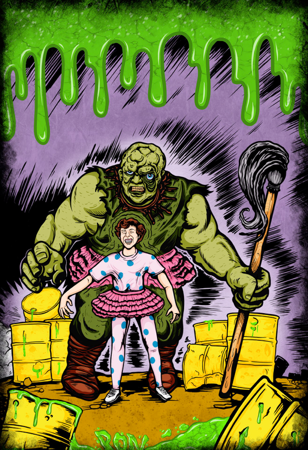 Image of The Incredible Toxie by PON