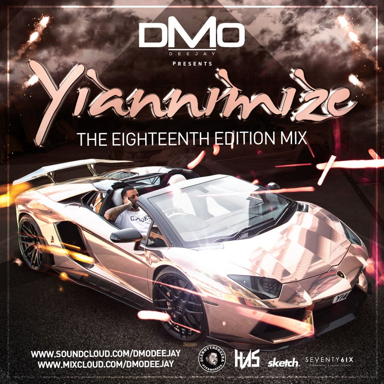 Image of Yiannimize Mix 18 Tracked CD