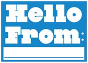 Image of Hello From Postcard - New!