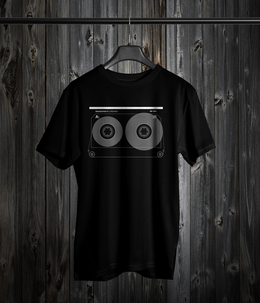 Image of Seasons 'Analog Tape' Design Tee (Black)