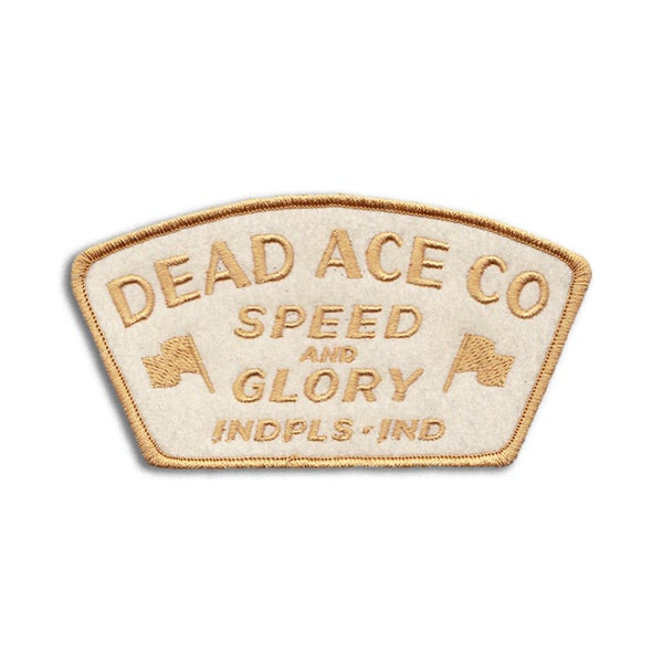 Image of Speed & Glory Patch (Cream)