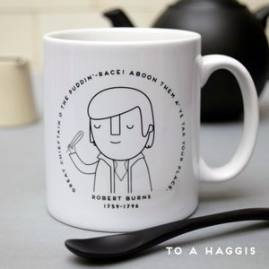 Image of Robert Burns poem Mug