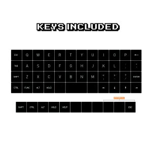 Image of Retroist K-Series Planck Double-Shot Keyset