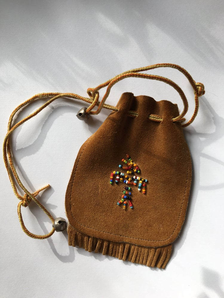 Image of Leather satchel